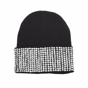 Accessories - 🎉Host Pick🎉Black jeweled beanie